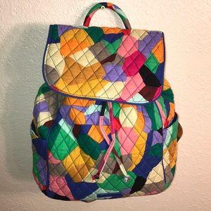 ad0d536ee Vera Bradley Bags - Vera Bradley Pop Art Drawstring Backpack Bag NWOT